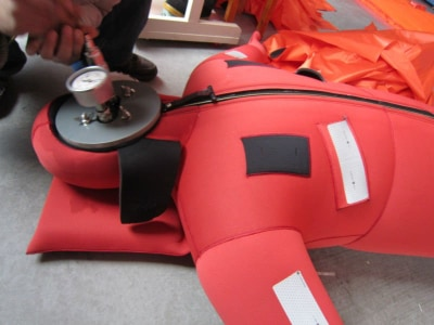 Figure 11: Inflatable Immersion Suit
