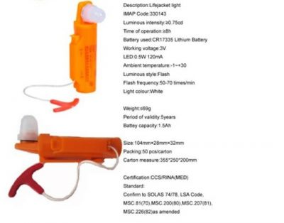 Figure 11: Life jacket lights At affordable prices