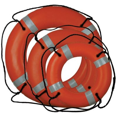 Figure 13 Lifebuoy with ropes