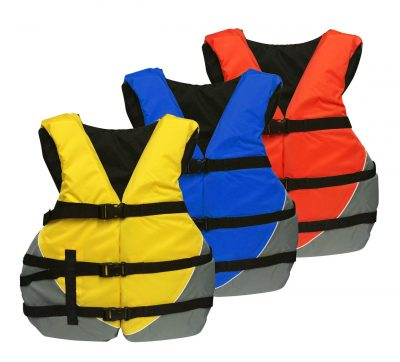 Figure 14: Different colors of life jackets