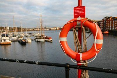Figure 2 Orange Lifebuoy Ring Purpose