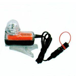Figure 3: Visibility range of life jacket lights