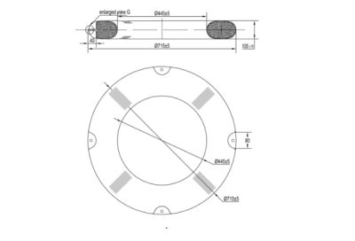 Figure 5 Specification of lifebuoy ring.