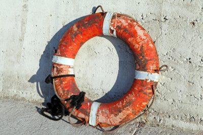 Figure 7 Lifebuoy Rings deteriorated.