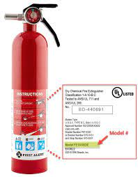 Figure 12: Information on Fire Extinguishers